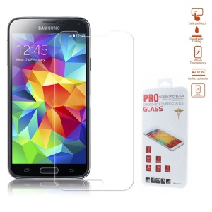 0.26mm Anti-explosion Tempered Glass Screen Film for Samsung Galaxy S5 mini G800 (Arc Edge)
