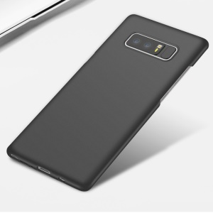 0.7mm All-wrapped Matte TPU Case for Samsung Galaxy Note 8 - Black