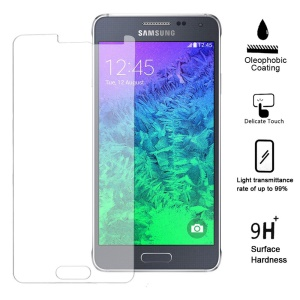0.25mm Explosion-proof Tempered Glass Screen Guard Film for Samsung Galaxy Alpha SM-G850F SM-G850A (Arc Edge)