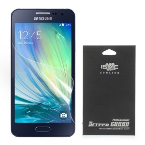 HD Clear Screen Guard Film for Samsung Galaxy A3 SM-A300F (With Black Package)