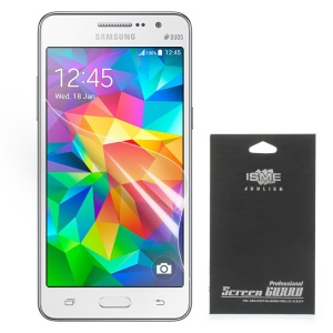 Clear LCD Screen Protector Guard Film para Samsung Galaxy Grand Prime SM-G530H (com pacote preto)