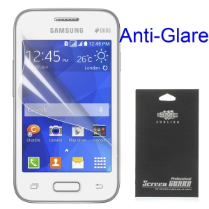 For Samsung Galaxy Young 2 SM-G130H Matte Anti-glare LCD Screen Guard Film (With Black Package)
