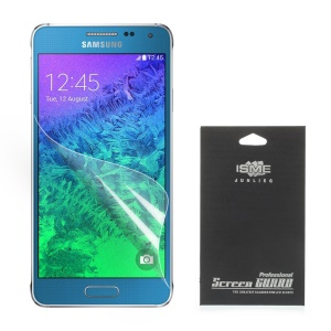 Ultra Clear Screen Protector for Samsung Galaxy A7 SM-A700F (With Black Package)