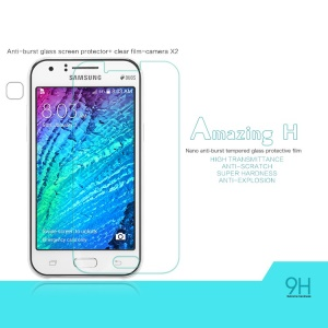 NILLKIN Amazing H Tempered Glass Screen Film for Samsung Galaxy J1 / J1 4G Nano Anti-Explosion