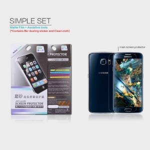 NILLKIN Matte Anti-glare Screen Film for Samsung Galaxy S6 G920 Scratch-resistant