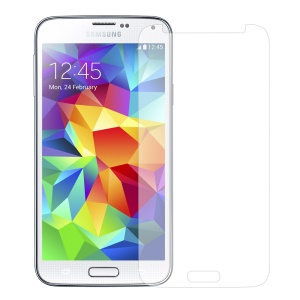 0.3mm Tempered Glass Screen Film for Samsung Galaxy S5 G900, Anti-explosion and Curved Edge
