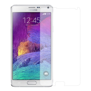 0.3mm Tempered Glass Screen Protector for Samsung Galaxy Note 4 N910, Anti-explosion and Curved Edge