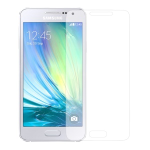 For Samsung Galaxy A3 A300F 0.3mm Tempered Glass Screen Protector, Anti-explosion and Curved Edge