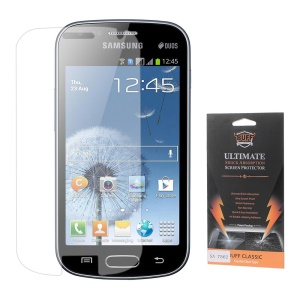 Anti-shock Screen Protector Film for Samsung Galaxy S Duos S7562 S7582 S7560