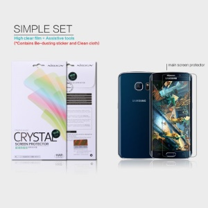 NILLKIN Ultra Clear Screen Film for Samsung Galaxy S6 SM-G925 Edge Anti-fingerprint
