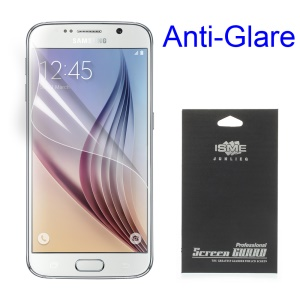 Matte Anti-glare Screen Protective Film for Samsung Galaxy S6 Edge G925(with Black Package)
