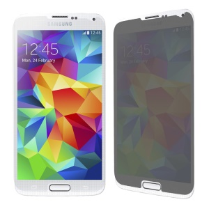 Anti-spy Tempered Glass Screen Protector Cover for Samsung Galaxy S5 G900 0.33mm
