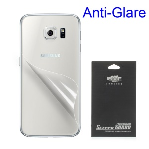 Matte Anti-glare Back Protective Film for Samsung Galaxy S6 G920 (With Black Package)
