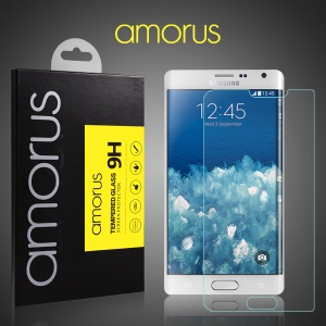 AMORUS for Samsung Galaxy Note Edge SM-N915 Tempered Glass Screen Protector Rounded Edge