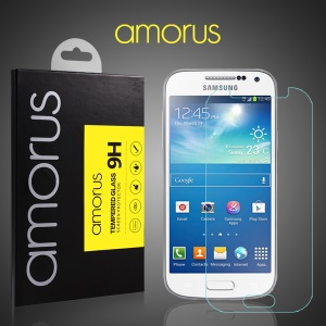AMORUS for Samsung Galaxy S4 mini Tempered Glass Screen Protector Rounded Edge