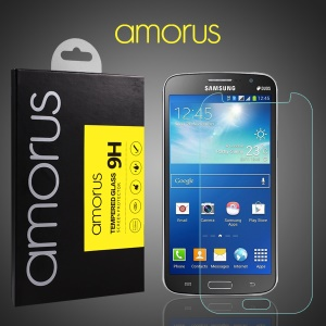 AMORUS 9H Tempered Glass Screen Protector for Samsung Galaxy Grand 2 Duos G7102 G7105 Arc Edge