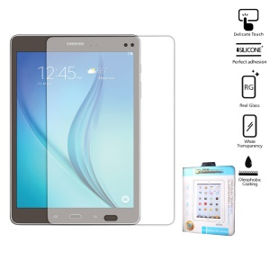 "Clear Tempered Glass Screen Protector for  Samsung Galaxy Tab A 9.7"" Arc Edge"