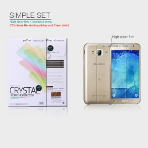 NILLKIN Anti-fingerprint Clear Screen Protector for Samsung Galaxy J5 SM-J500F