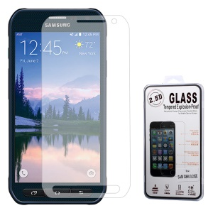 0.25mm Explosion-proof Tempered Glass Screen Protector Film for Samsung Galaxy S6 Active SM-G890 (Arc Edge)