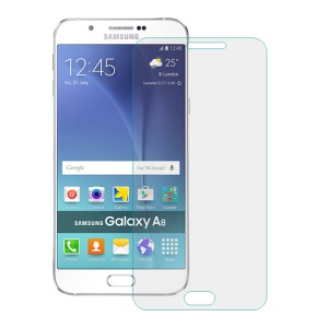 0.3mm Tempered Glass Screen Protector Film for Samsung Galaxy A8 SM-A800F Arc Edge