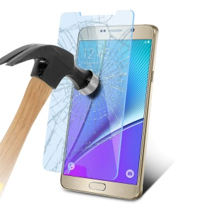 Anti-blue-ray Tempered Glass Screen Guard for Samsung Galaxy Note5 N920 0.3mm 9H 2.5D