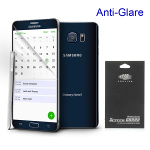 Matte Anti-glare LCD Screen Protector for Samsung Galaxy Note 5 N920 (With Black Package)