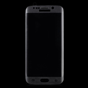 For Samsung Galaxy S6 edge Plus G928 FEMA Complete Covering Tempered Glass Screen Film Silk Print - Transparent