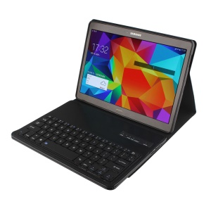 Detachable Bluetooth Keyboard Leather Case for Samsung Galaxy Tab S 10.5 T800 T805 - Black