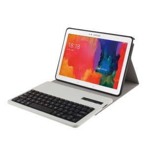 Flip Leather Case + Bluetooth Keyboard for Samsung Galaxy Tab Pro 10.1 T520 T525 - White