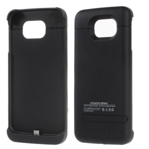 4200mAh Battery Backup Charger Case for Samsung Galaxy S6 G920 - Black