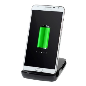 Charging Dock Station + Spare Battery Slot for Samsung Galaxy Note Edge SM-N915T - Black