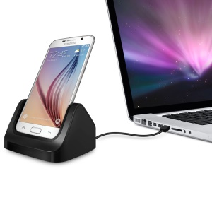 Charger Dock Docking Station Cradle for Samsung Galaxy S7 S6 / S7 edge / S6 Edge - Black