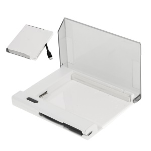External Battery Charger Cradle with Built-in Cable for Samsung Galaxy Note 3 - White