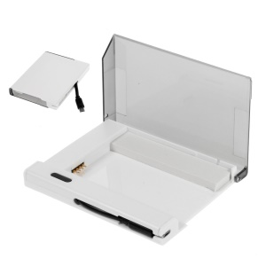 External Battery Charger Cradle with Built-in Cable for Samsung Galaxy Note 4 - White