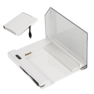 External Battery Charger Cradle with Built-in Cable for Samsung Galaxy S5 - White
