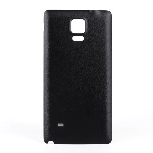 Wireless Qi Charging Receiver NFC Battery Cover for Samsung Galaxy Note 4 N910 - Black