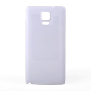 Wireless Qi Charging Receiver NFC Battery Cover for Samsung Galaxy Note 4 N910 - White