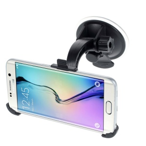 360 Degree Rotation Suction Cup Car Mount Holder for Samsung Galaxy S6 Edge / S6 G920