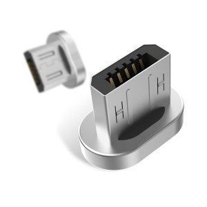 WSKEN Metal Micro USB Magnetic Adapter Plug Works with WSKEN Mini 2/1 Magnetic Charging Cable