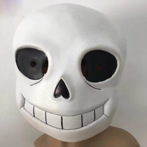 Luminous Undertale Sans Head Mask Laxtex Mask Halloween Cosplay Costume Cosplay Props - For Adults