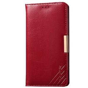 KALAIDENG Royal II Series for Sony Xperia Z3 D6603 D6653 Leather Cover with Wallet Stand - Red