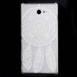 Clear Hard Plastic Case for Sony Xperia M2 D2303 D2306 / M2 Dual D2302 - Dream Catcher