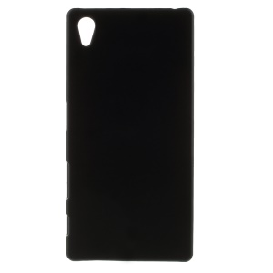 Rubberized Hard PC Case for Sony Xperia Z5 - Black