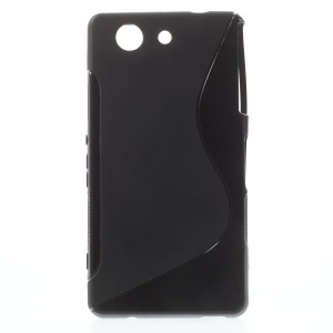 Streamline S-curved TPU Case for Sony Xperia Z3 Compact D5803 M55w - Black