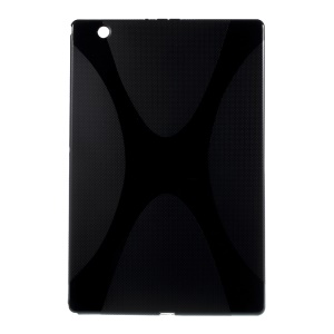 Black X-shape TPU Gel Cover for Sony Xperia Z4 Tablet