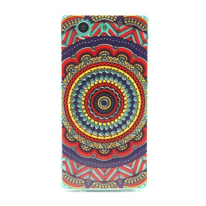 Kaleidoscope Embossing TPU Gel Case for Sony Xperia Z3 Compact D5803 D5833 M55w