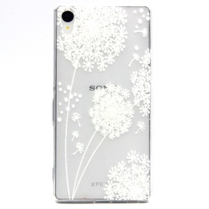 Embossment TPU Gel Shell for Sony Xperia Z3+/Z3+ Dual E6533 - Dandelion