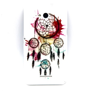 Embossment Slim TPU Case for Sony Xperia E4g E2003 / Dual E2033 - Dream Catcher