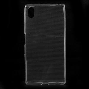 Slim Durable TPU Phone Case for Sony Xperia Z5 - Transparent