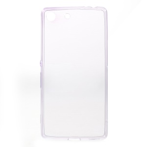 Ultrathin Gel TPU Cover for Sony Xperia M5 E5603 / M5 Dual E5633 - Purple